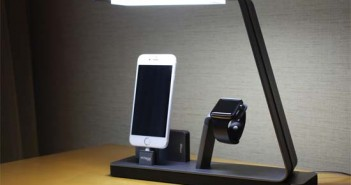 NuDock- lámpara- Apple- recargar-iPhone