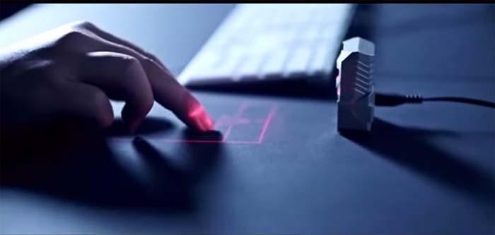 Ratón- laser- ODiN- Kickstarter