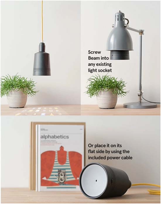Beam-proyector-android-kickstarter-portalámparas