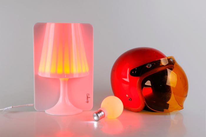 Luz- lámpara-color- Pega D&E- ColorUp-Tal Dance- bombilla