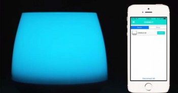 vela digital- MiPow- Playbulb- luz- LED- Smart phones- tablets
