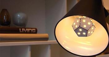 Nanoleaf- bombilla- LED- eficiente- diseño- origami- iluminación- luz