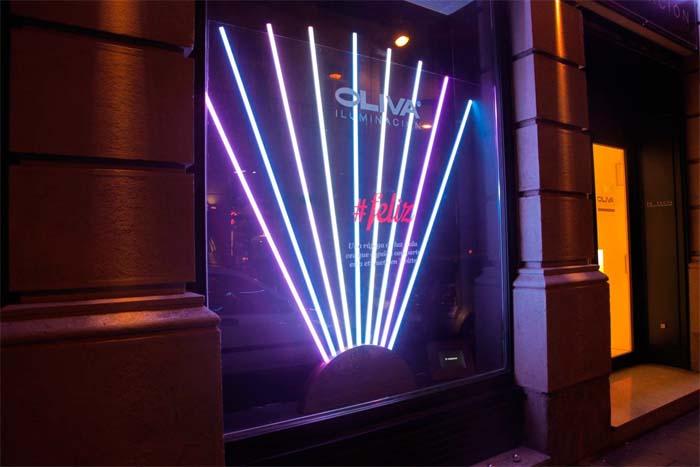 Luz-Oliva Iluminación- Navidad- #feliz- LED-iluminación
