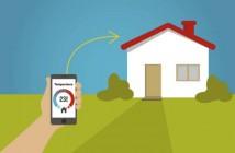 hogar inteligente - móvil - vigilancia - WiFi - seguridad - Smart home