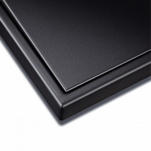 Serie LS 990 Dark en aluminio lacado mate oscuro_(detalle)