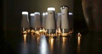 Lumir C-faro-lámpara- LED-vela