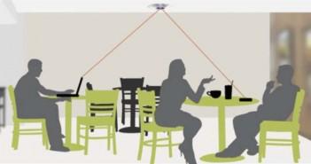 Wi-charge - carga - dispositivos - inalámbrico - láser-Smart phone Smart home - recarga