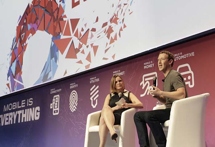 Facebook - WMC - rayos láser - drones - video - realidad virtual - Zuckerberg
