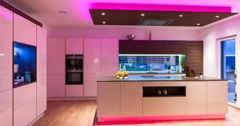 Luces - LED - Spots - LEDs - Loxone - iluminación - Smart Home