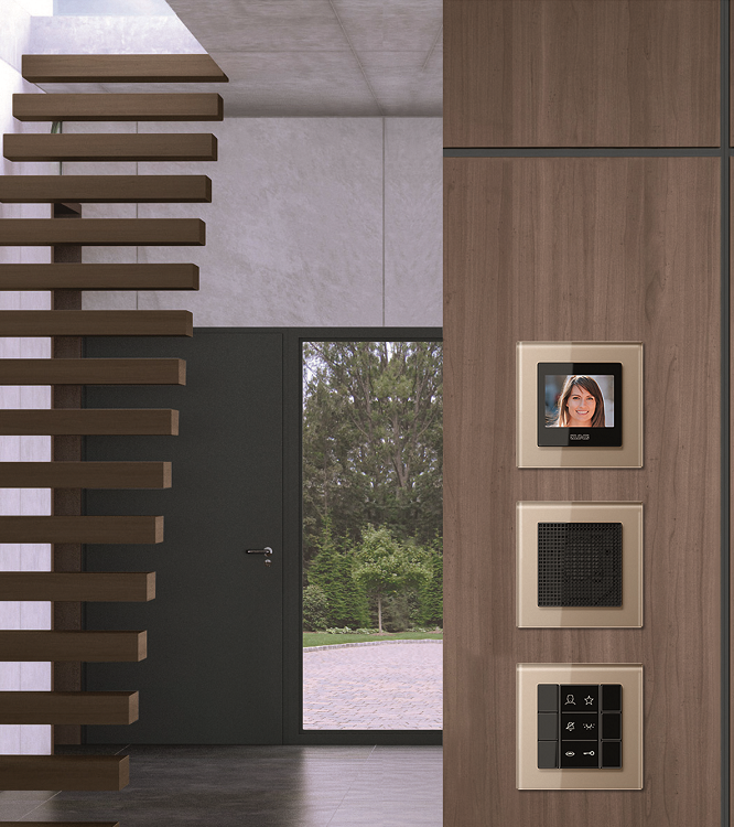 jung y siedle presentan un cat logo com n de sistemas el ctricos smart lighting home. Black Bedroom Furniture Sets. Home Design Ideas