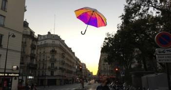 Oombrella – Kickstarter - smart paraguas- crowfunding