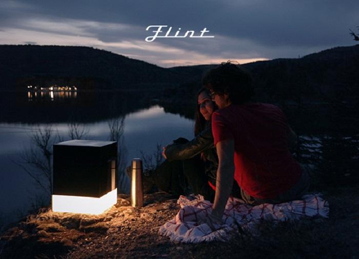 Flint – iluminación – crowdfunding – indiegogo - bluetooth