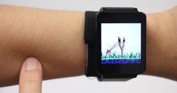 Universidad Carnegie Mellon – Pittsburg – SkinTrack – Touchpad - skin to screen