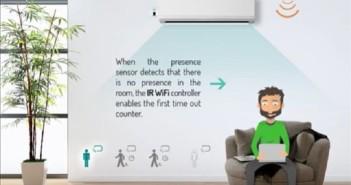 IntesisHome - aire acondicionado - WiFi- temperatura
