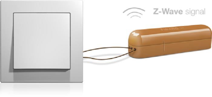 Fibaro - sensor universal - sistema Z –Wave - automatización