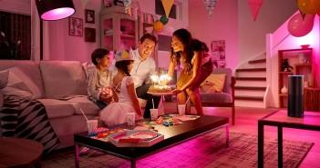 Philips Lighting - Alexa - control iluminación