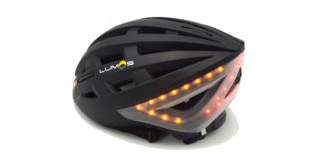 casco bici LED