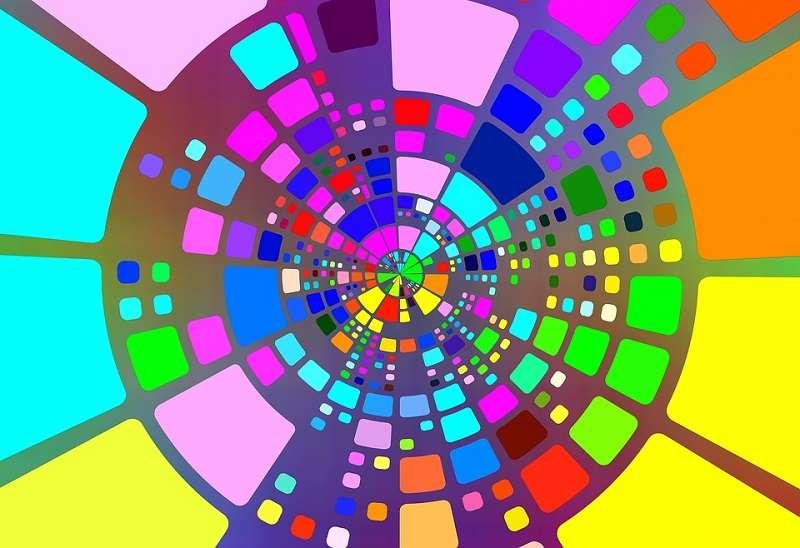 realidad aumentada, colores, micro LED