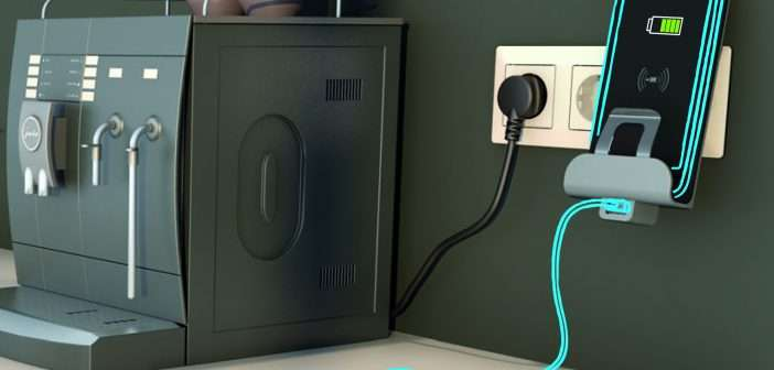 Legrand Group te permite cargar el móvil sin necesidad de cables