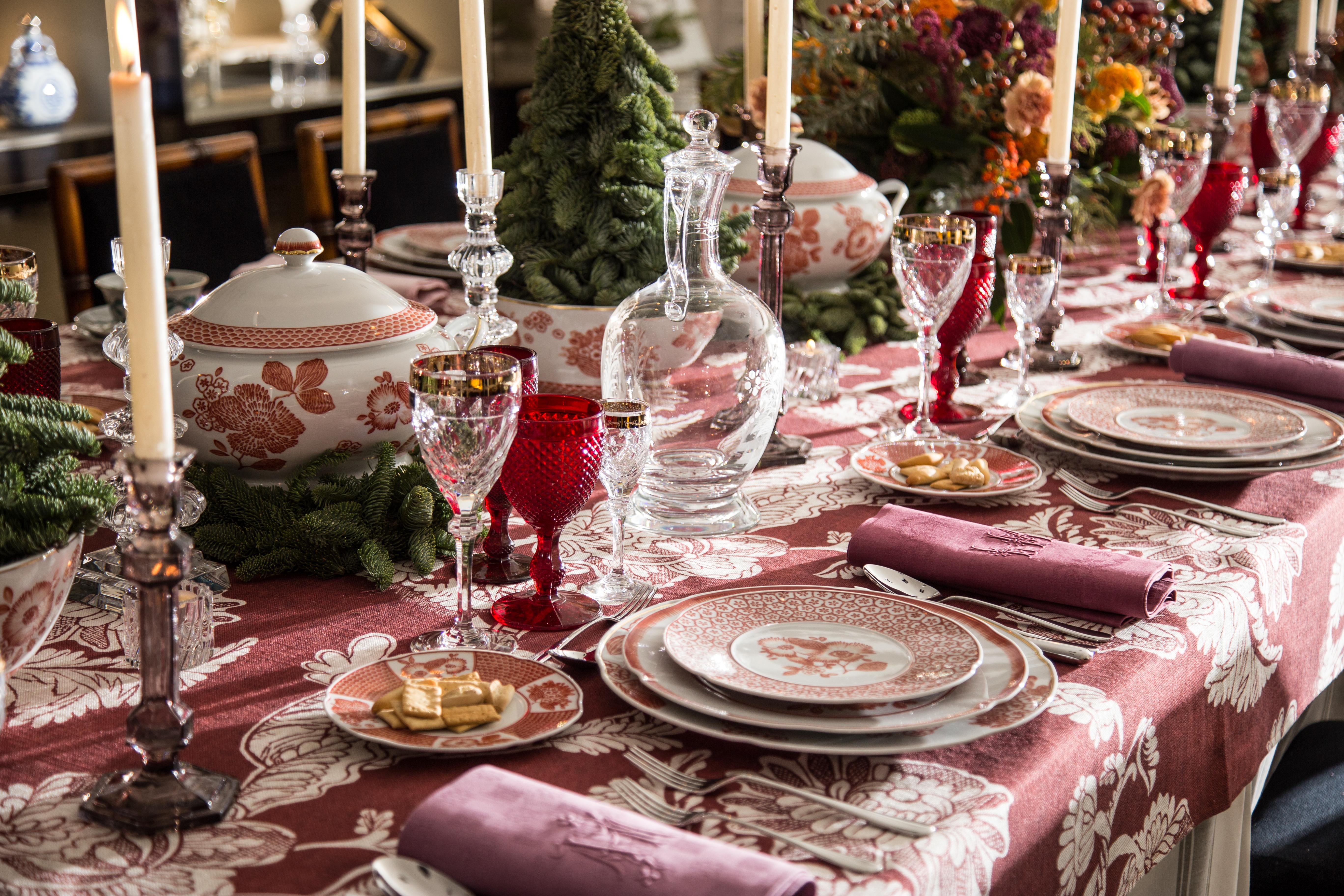 mesa de Navidad