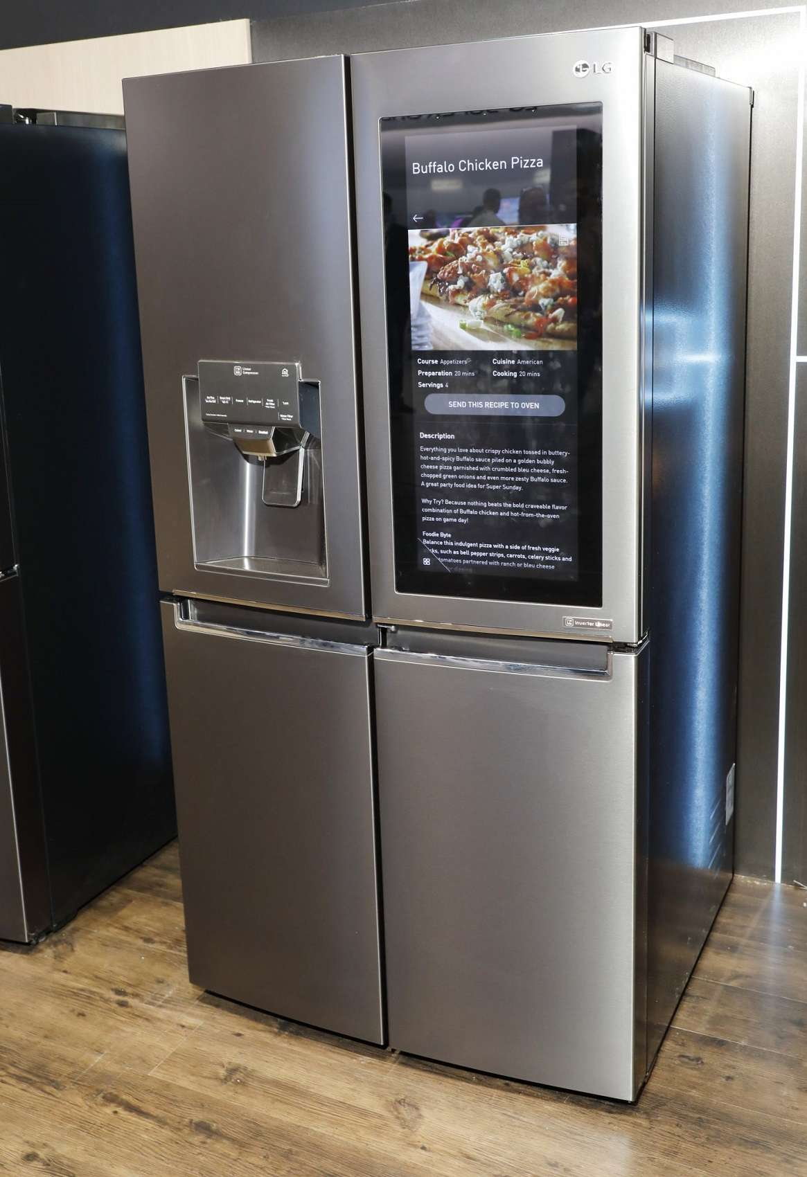LG Electronics muestra su cocina inteligente en el CES 2018 - Smart ...