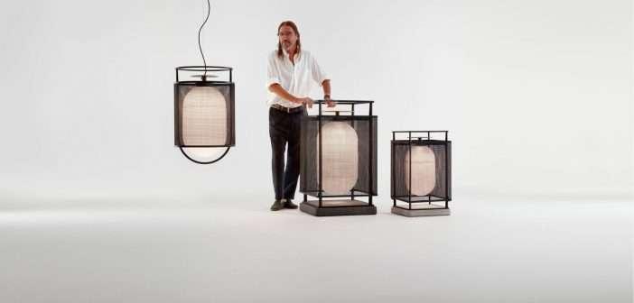 Parachilna presenta la colección de lámparas de exterior de Neri&Hu
