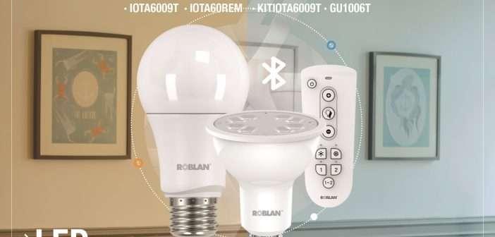 Nuevas lámparas inteligentes de Roblan con regulador de iluminación