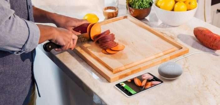 Nueve formas de usar Google Home en la cocina