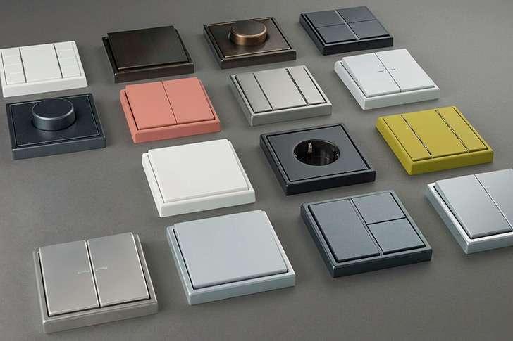 La serie de interruptores el ctricos ls990 de jung cumple 50 a os smart lighting home - Interruptores clasicos ...
