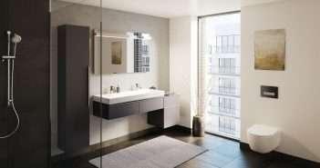 baño, smarthome, inodoro, decoración