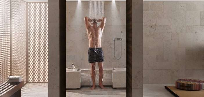ducha, baño