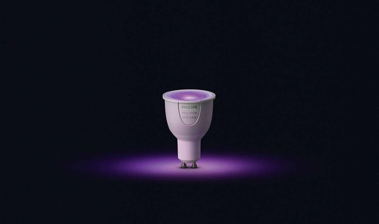 Philips, GU10, iluminación, LED, HUE, Philips HUE