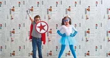 Leroy Merlin, hijos, superheroes