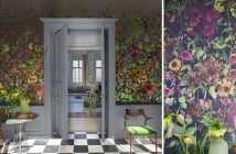 hogar, casa, papel pintado