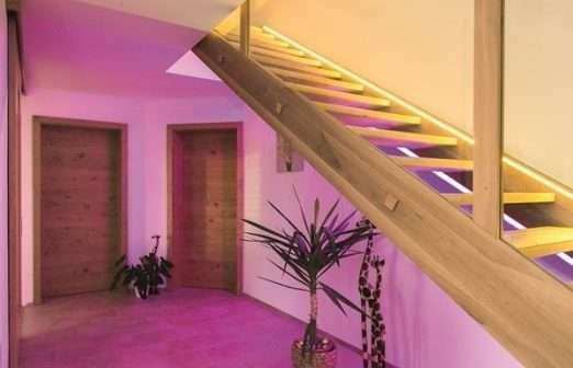 iluminación, hogar, Loxone