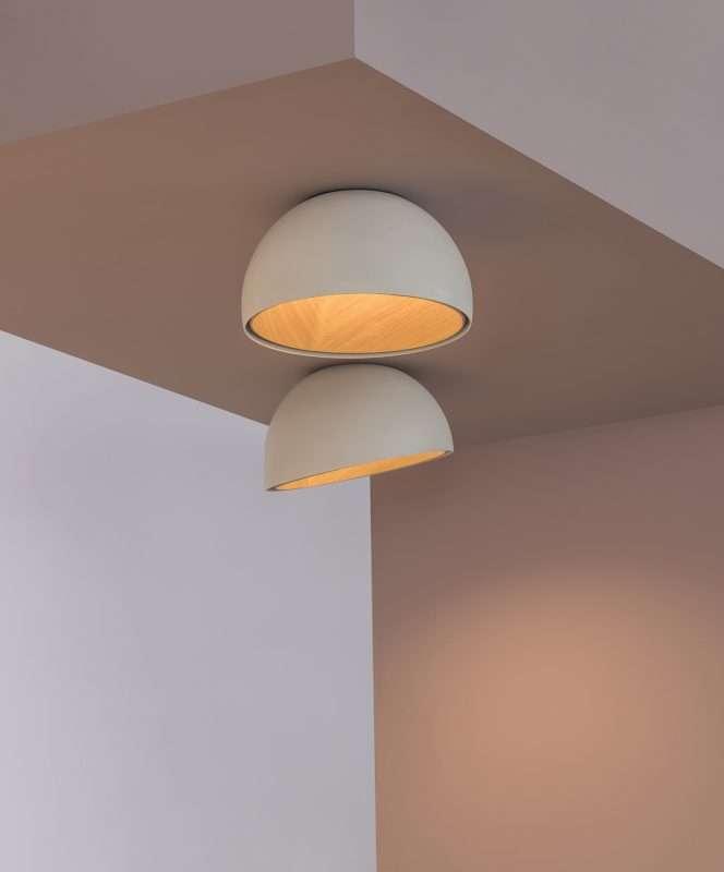 madera, lámparas, iluminación, LED, Vibia