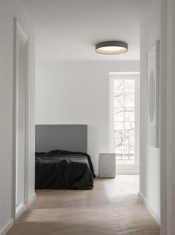 maderas, lámparas, Vibia, iluminación, LED