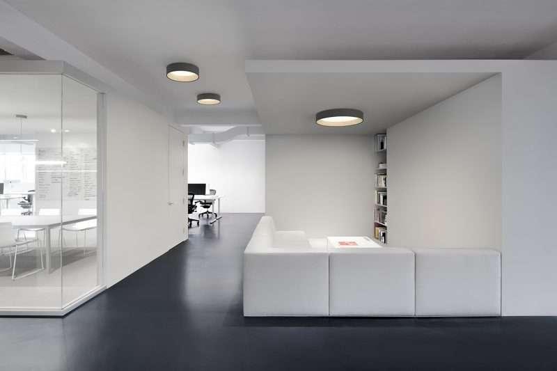 madera, lámparas, Vibia, iluminación, LED