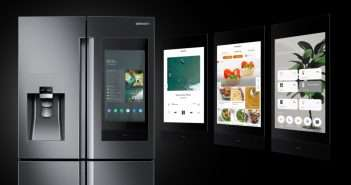 Bixby ,CES 2019, Family Board ,Family Hub ,2019,,Samsung, ,Refrigerador