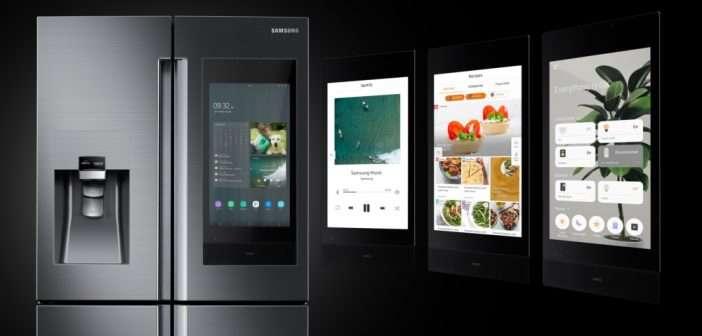 Samsung presenta un nuevo estándar en conectividad con la próxima generación de refrigeradores Family Hub en CES 2019