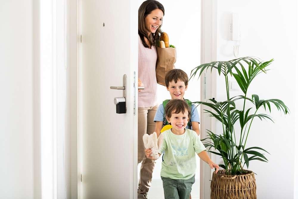 llave, cerradura inteligente, smart home