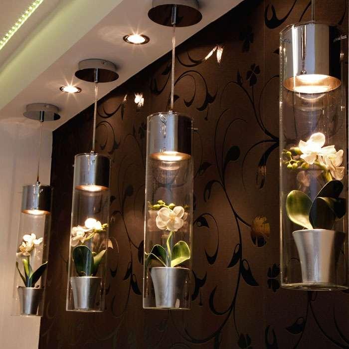 iluminación hogar, LED, lámparas, iluminación