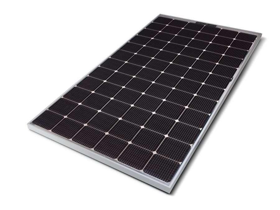 panel solar, LG, energía solar