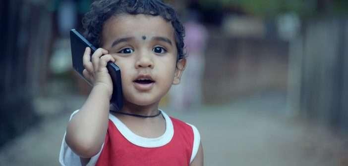 hijos, niños, smart phone, móviles,