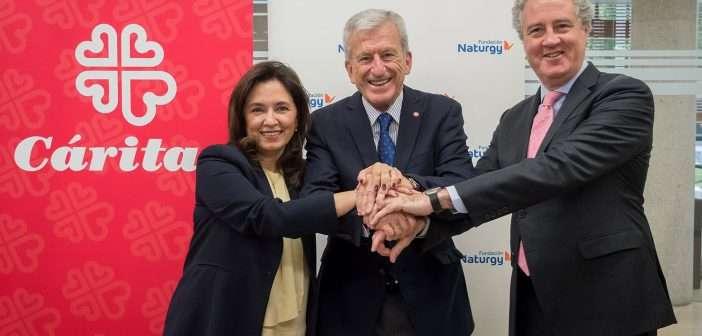 rehabilitación energética, eficiencia energética, Cáritas, Fundación Naturgy