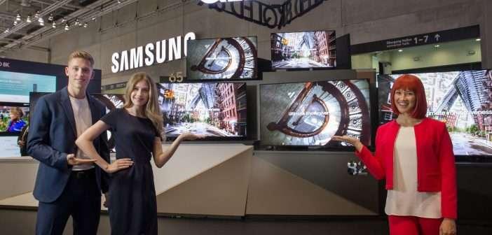 electrodomésticos, Samsung, QLED, OLED, TV