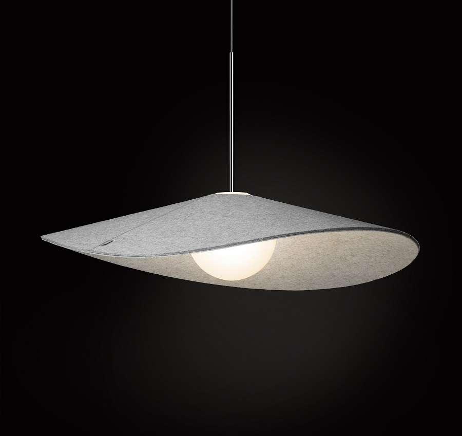 Pablo, Bola Felt, diseño,iluminación, lámparas