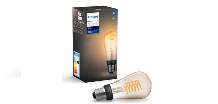 hogar inteligente, Philips Hue, bombillas, filamento
