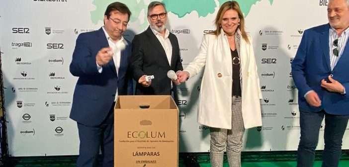 ecolum, Reciclya, reciclaje, RAEES, economía circular, Plasencia, congreso del bienestar