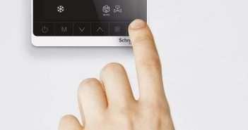 climatización, Schneider, Termostato, hogar, smart home
